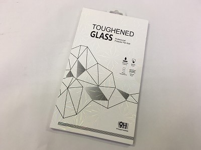 TOUGHENED GLASS iPhone7 or 8【新品】